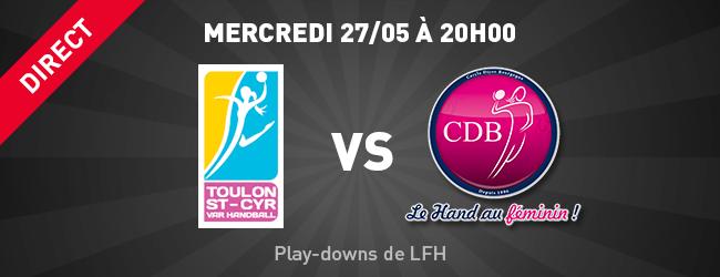Toulon - CDB en direct sur Dijon Sport News