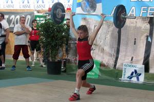 Vicky Graillot à 66 kgs ©HMDB 21