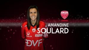 Amandine Soulard est la cinquième recrue du DFCO Féminin. Photo DFCO