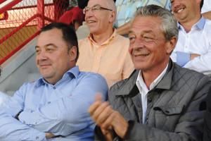 M Millot ici aux côtés du président du DFCO Olivier Delcourt © DFCO