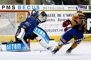 Dijon a fait un superbe deuxième tiers © Claude Ares/ Hockey Hebdo