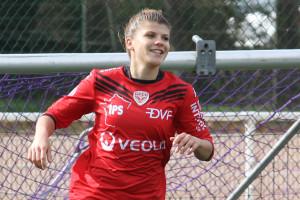 Laura Bouillot a inscrit son cinquième but de la saison. Crédit: Nicolas GOISQUE