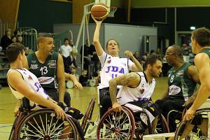 Mariane Buso aura face à elle deux coéquipières de l'équipe nationale © Nicolas GOISQUE/ www.Focale.info