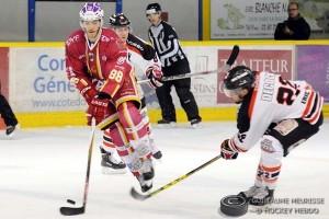 Dijon devra être dangereux en attaque pour espérer décrocher la victoire © Guillaume MEURISSE/Hockey Hebdo