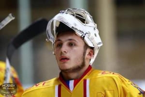 Pierre Pawelek à fait une prestation prometteuse face à Rouen © Claude Ares/ Hockey Hebdo