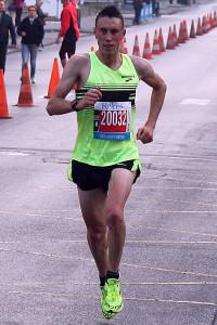 Paul Lalire ici au semi marathon de Reims en octobre 2015 Reims © D Lalire
