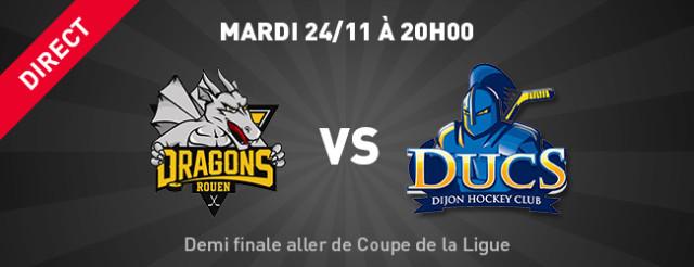 Rouen dhc match en direct demi finale aller de coupe de - Resultats coupe de la ligue en direct ...