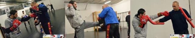 Bongiovani à l'entraînement avec Mokthar Rouji