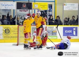Le match contre Lyon, une belle éclaircie dans la saison. © Guillaume Meurisse/ Hockey Hebdo