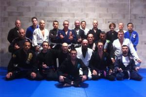 Le groupe d'entraînement de jjb d' Originz JJB Dijon © OJJB D