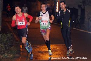 Adrienne Langlois au centre remporte la course chez les féminines © Nicolas GOISQUE/www.Focale.info