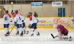 L'efficacité offensive angevine avait fait mal lors de la dernière rencontre © Laurent Lardière/Hockey Hebdo