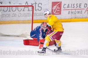 Les Ducs devront se montrer bien plus efficace devant le but © Laurent Lardière/ Hockey Hebdo