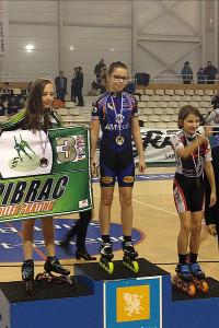 Le podium de Cléa © AM Sports