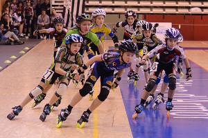 Cléa Garropin en tête de course © Djoé AILLIAUD