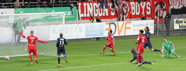 Diony marque le but du 3-0 © Nicolas GOISQUE/NikoPhot