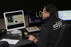 Lorenzo Cristofoli , directeur du circuit au travail au PC Course © Nicolas GOISQUE/NikoPhot