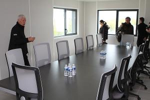 salle de réunion au premier étage © Nicolas GOISQUE/NikoPhot