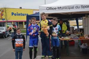 le podium benjamins  © ASPTT Dijon Cyclisme