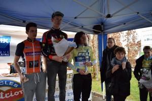 le podium cadets © ASPTT Dijon Cyclisme