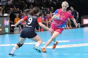 Ludivine Jacquinot HBC Meursault © Nicolas GOISQUE/handball