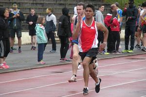 Romain BILLARD qui bat son record sur 400 m © ASPTT Dijon