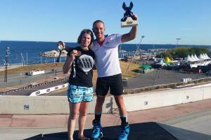 Charline-Marillier et Florian-Petitcollin  © AMSports