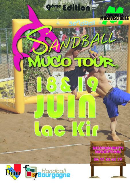 affiche Sandball