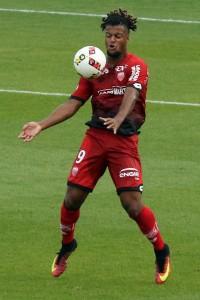 Loïs Diony a inscrit ses deux premiers buts en Ligue 1. Crédit : Nicolas GOISQUE