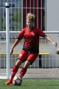 Laura Bouillot va débuter une nouvelle saison en pointe de l'attaque dijonnaise. Crédit : Nicolas GOISQUE