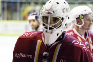 Henri-Corentin Buysse a, malgré les 3 buts encaissés, livré une nouvelle fois une belle prestation © Nicolas Goisque/ Niko Phot