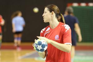 Martina Skolkova a très bien débuté avec 3 buts en 8 minutes © Nicolas GOISQUE/NikoPhot archives