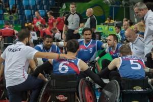 L'équipe de France a montré de nets progrès © Pascal PCS