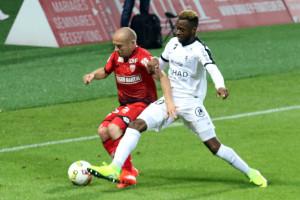 Florent Balmont sera suspendu contre Montpellier. Crédit : Nicolas GOISQUE
