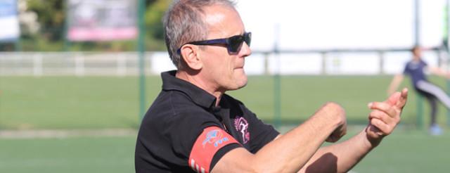 Le coach Didier Couette (avec Jordan Gaudiller) croit en la réaction de ses joueuses © Nicolas GOISQUE/NikoPhot archives