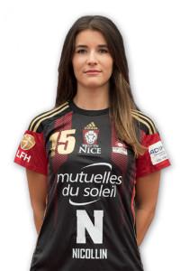 Marie François jouera pour la première fois contre le CDB © OGC NCAH