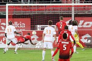 91ème minute Liotès délivre le stade © Nicolas GOISQUE/NikoPhot