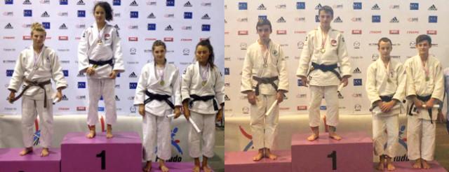 Le podiums des jeunes de l'AJBD 21-25 © AJBD