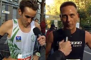 Romain Prudon et Nicolas Mary au micro de France TV Copie d'écran France TV