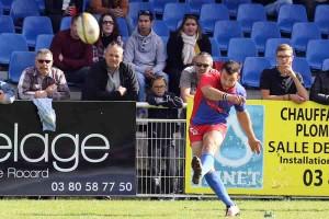 Dijon a dû se contenter de 9 points au pied , insuffisant © Nicolas GOISQUE/NikoPhot
