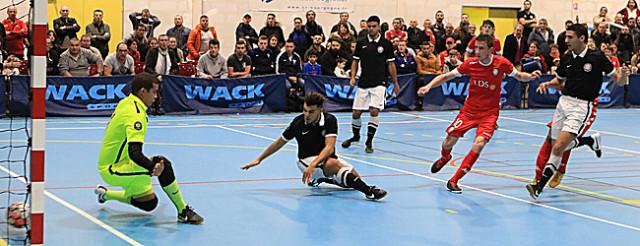 Jérémy Mouillon inscrit le second but clénois  © Nicolas GOISQUE/NikoPhot