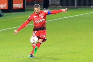 Varrault a marqué mais n'a pu empêché la défaite du DFCO  © Nicolas GOISQUE/NikoPhot