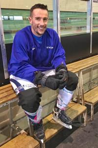 Florian s'est préparé à la patinoire de Dijon © AM Sports