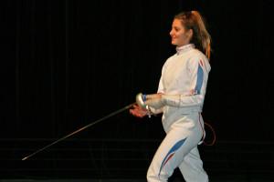 La journée a été très longue pour Camille Nabeth et les concurrentes © ASPTT Dijon