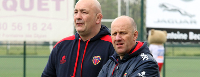 Laurent Bonventre et Lionel Humblot  ne seront plus aux commandes la saison prochaine © Nicolas GOISQUE/NikoPhot archives