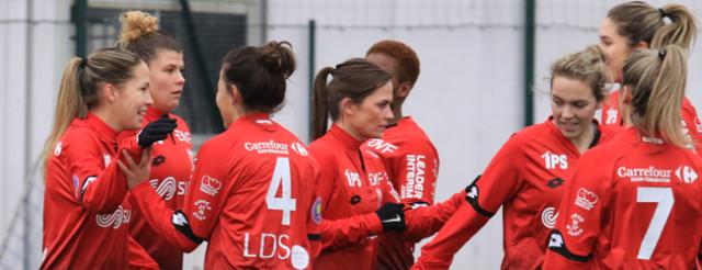 Le DFCO féminin va devoir attendre avant de retourner au championnat (Crédit photo : Nicolas GOISQUE)