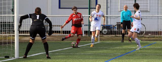 Lindsay Derré a inscrit le troisième but dijonnais © Nicolas GOISQUE/NikoPhot