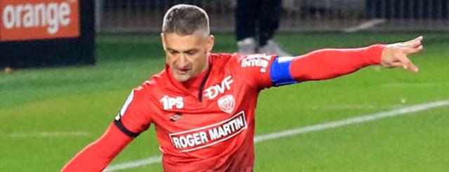 Varrault avait réduit le score mais cela n'a pas suffi © Nicolas GOISQUE/NikoPhot archives